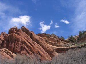 colorado red rocks