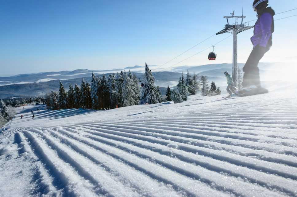 Groomed ski slopes - Best Colorado Winter Resorts - Top 3