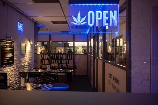 recreational cannabis store